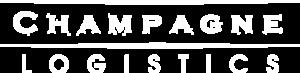 Champagne Logistics logo white