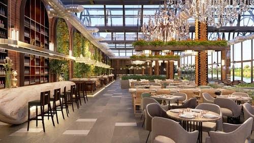 retail restaurants dining
